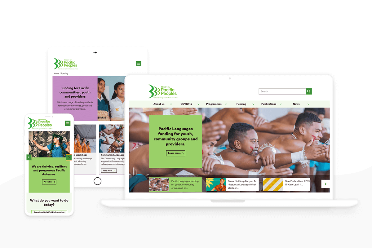 Ministry for Pacific Peoples website