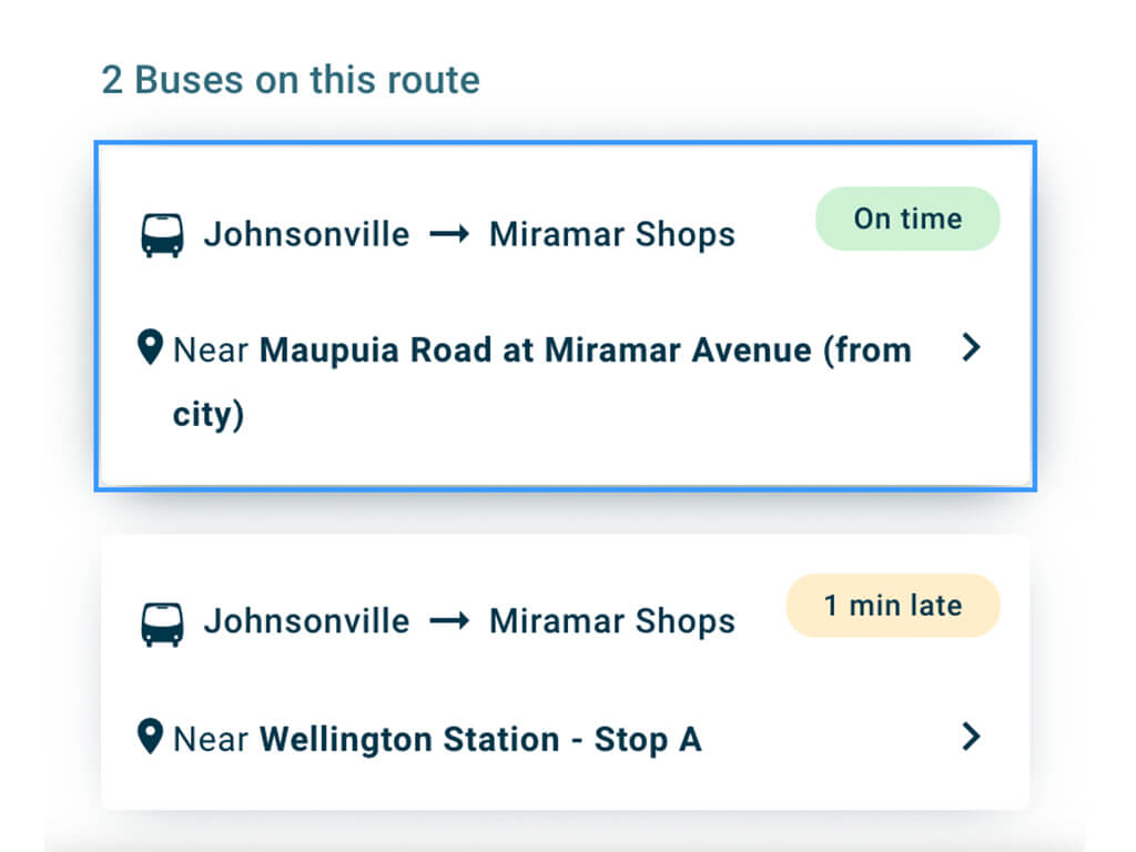 metlink website journey planner