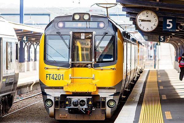 metlink train stock image