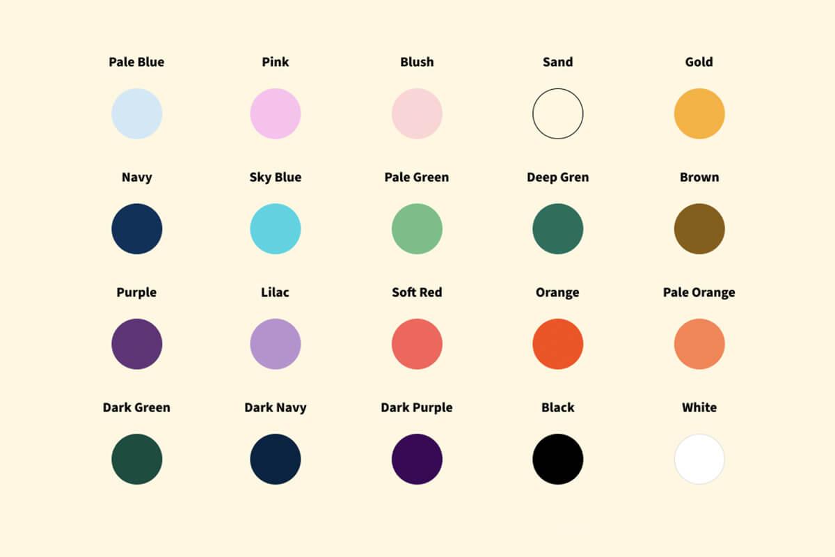 noku te ao colour palette