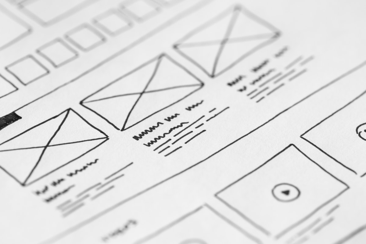 wireframe image