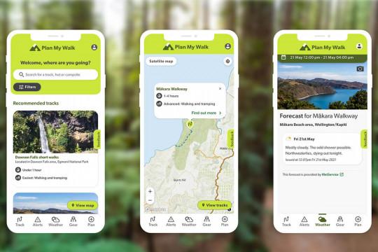 Plan My Walk Website & App